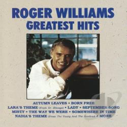 Williams, Roger - Greatest Hits CD Cover Art