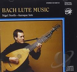 North, Nigel: gtr - Bach Lute Music CD Cover Art