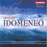 Evans / Ford / Gedda / Montague / Mozart / Parry - Mozart: Idomeneo CD Cover Art