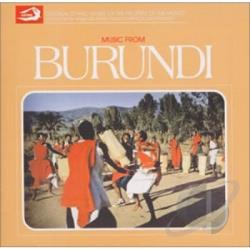 Music Of Burundi CD Cover Art