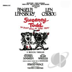 Sweeney Todd - Sweeney Todd CD Cover Art