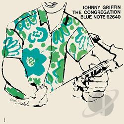 Griffin, Johnny - Congregation CD Cover Art