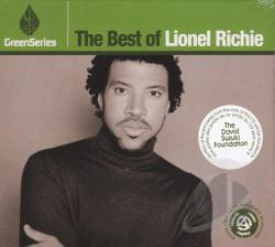 Richie, Lionel - Best Of Green Series CD Cover Art