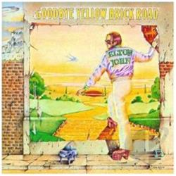 John, Elton - Goodbye Yellow Brick Road LP Cover Art