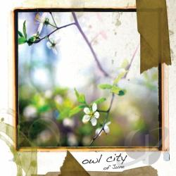 Owl City - Of June CD Cover Art