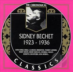 Bechet, Sidney - 1923-1936 CD Cover Art