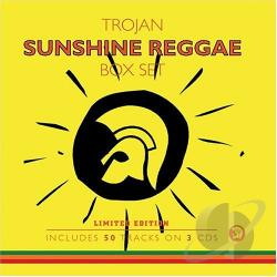 Trojan Sunshine Reggae CD Cover Art