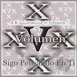 Volumen X - A.B. Quintanilla III Presenta Volumen X CD Cover Art