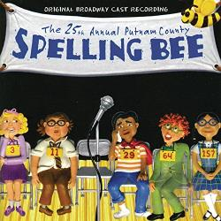 25th Annual Putnam County Spelling Bee CD Cover Art