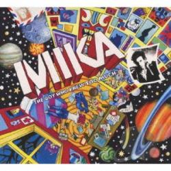Mika - Boy Who Knew Too Much-Ultra Pop Monster CD Cover Art