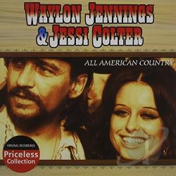 Colter, Jessi / Jennings, Waylon - All American Country CD Cover Art