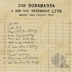 Bonamassa, Joe - New Day Yesterday: Live CD Cover Art