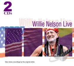 Nelson, Willie - Willie Nelson - Live CD Cover Art