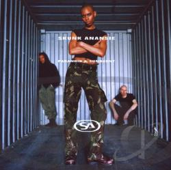 Skunk Anansie - Paranoid & Sunburnt CD Cover Art