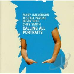 Halvorson, Mary - Calling All Portraits CD Cover Art