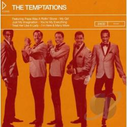 Temptations - Icons: The Temptations CD Cover Art