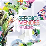 Mendes, Sergio - Bom Tempo Brasil Remixed CD Cover Art
