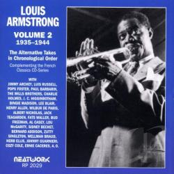 Armstrong, Louis - Alternative Takes, Vol. 2: 1935 - 1944 CD Cover Art