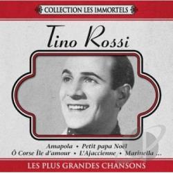 Rossi, Tino - Plus Grandes Chansons CD Cover Art