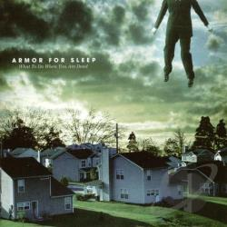 Armor For Sleep - What to Do When You Are Dead CD Cover Art