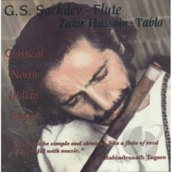 Sachdev, G.S. & Zakir Hussain - Classical North Indian Ragas CD Cover Art
