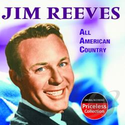 Reeves, Jim - All American Country CD Cover Art