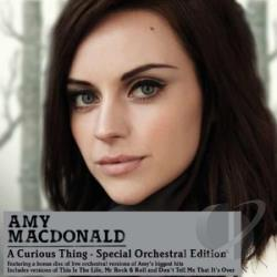 Macdonald, Amy - Curious Thing CD Cover Art