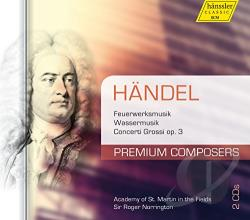 Amf / Brown / Handel / Marriner - Premium Composers, Vol. 1: Handel CD Cover Art