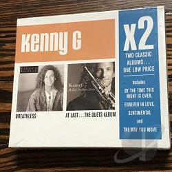 G, Kenny - Breathless/At Last... The Duets Album CD Cover Art