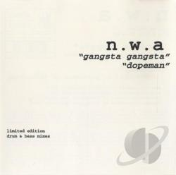 N.W.A. - Gangsta Gangsta/Dopeman CD Cover Art