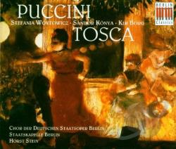 Berlin Staatskapelle / Puccini / Stein - Puccini: Tosca CD Cover Art