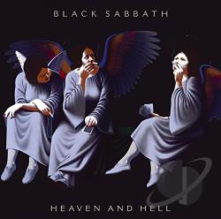 Black Sabbath - Heaven & Hell CD Cover Art