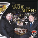 Warren Vache - John Allred Quintet - Top Shelf CD Cover Art
