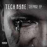 Tech N9ne - Seepage (EP) DB Cover Art