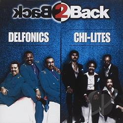 Delfonics - Back 2 Back CD Cover Art