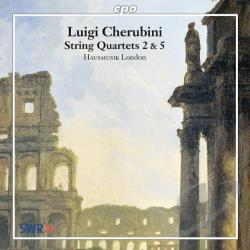 Cherubini - Cherubini: String Quartets 2 & 5 CD Cover Art