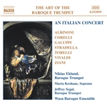 Art Of Baroque Trumpet 5: An Italian Concert - An Italian Concert CD Cover Art