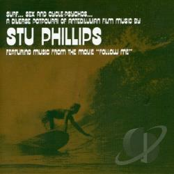 Phillips, Stu - Surf, Sex and Cycle-Psycho's CD Cover Art