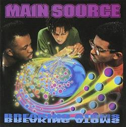 Main Source - Breaking Atoms CD Cover Art