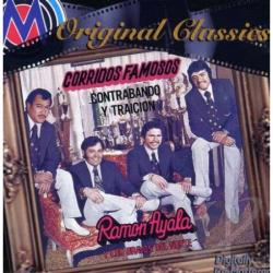 Ayala, Ramon - Corridos Famosos CD Cover Art