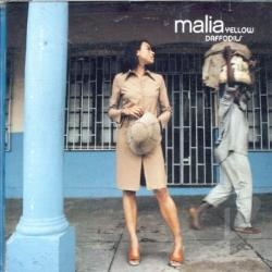Malia - Yellow Daffodils CD Cover Art