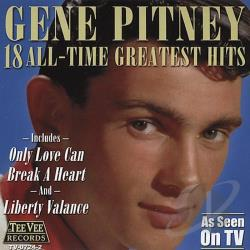 Pitney, Gene - 18 All Time Greatest Hits CD Cover Art