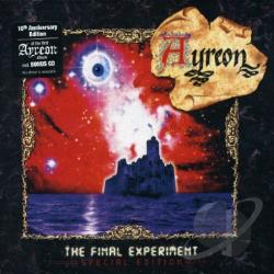 Ayreon - Final Experiment CD Cover Art