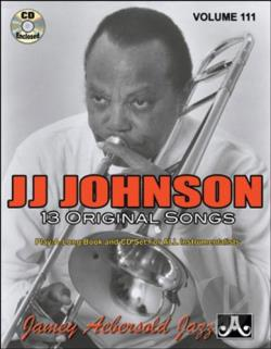 Aebersold, Jamey - JJ Johnson: 13 Original Songs CD Cover Art