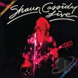 Cassidy, Shaun - That's Rock 'N' Roll: Shaun Cassidy Live CD Cover Art