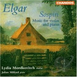 Elgar / Milford / Mordkovitch - Elgar: Sospiri CD Cover Art