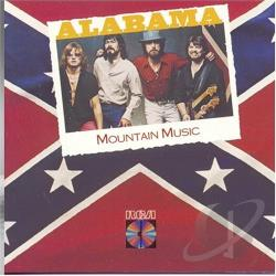 Alabama - Mountain Music CD Cover Art