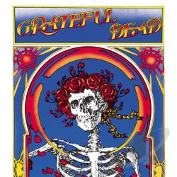 Grateful Dead - Grateful Dead (Skull & Roses) CD Cover Art