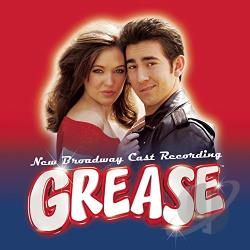 Grease: New Broadway Cast Recording CD Cover Art
