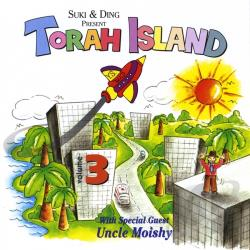 Torah Island - Vol. 3 - Adventure On Torah Island CD Cover Art